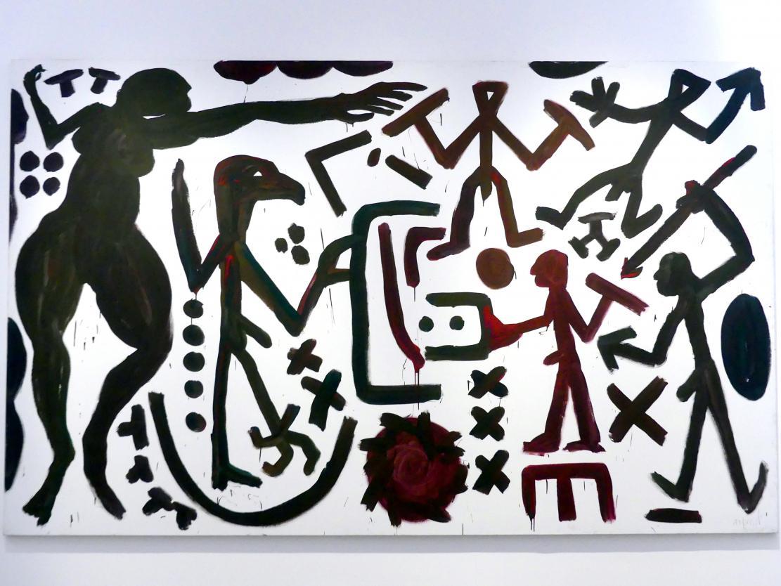 A. R. Penck: Weltbild Berlin I, 1991 - 1994