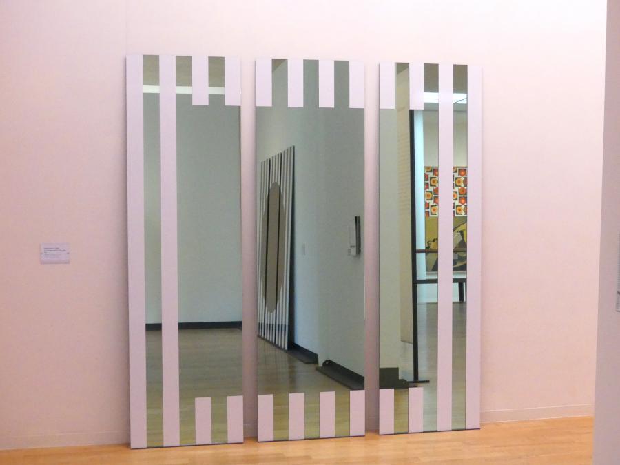 Daniel Buren: Les Visages colorés II A - vert, 2005