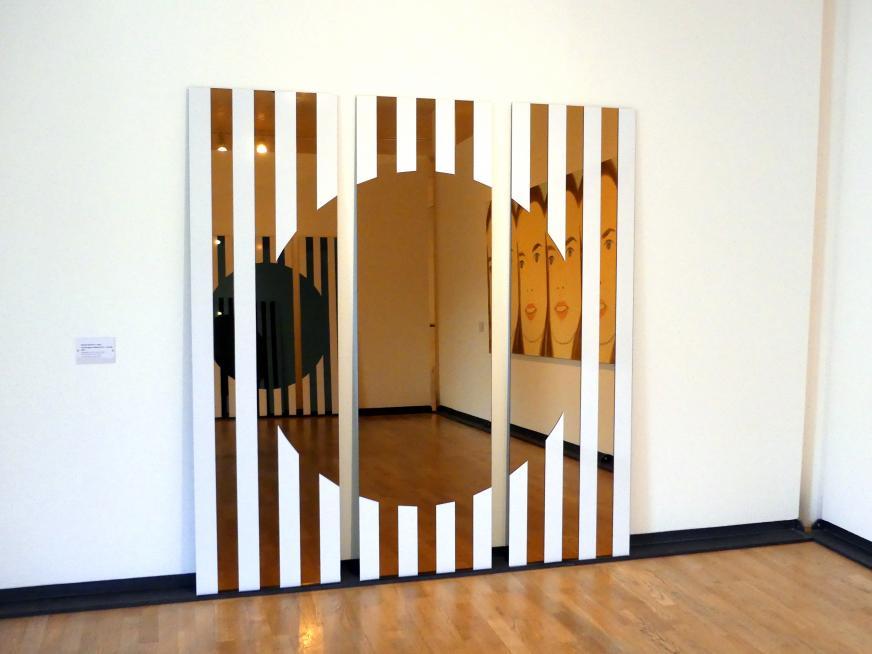 Daniel Buren: Les Visages colorés IV A - créole, 2005