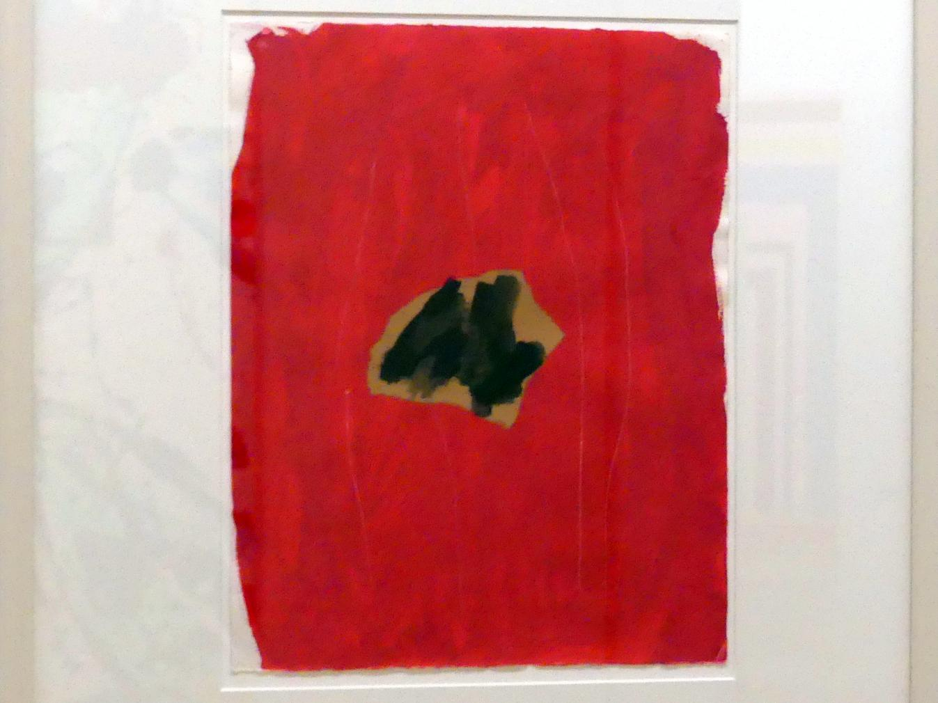 Robert Motherwell: Ohne Titel, 1977