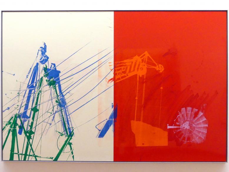Robert Rauschenberg: Spindle (Urban Bourbon), 1989