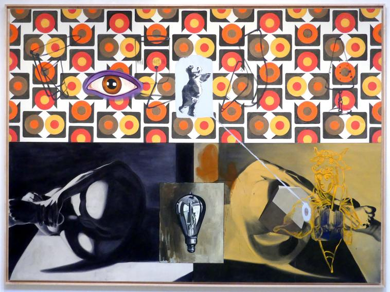 David Salle: Candy Weeping to be Eaten, 1986