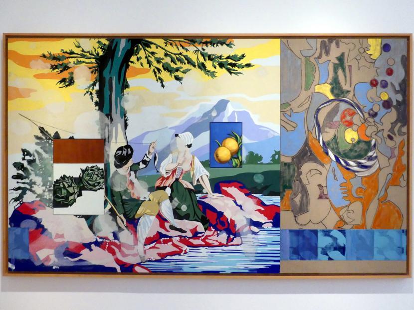 David Salle: Verschüttetes Obst, 2000