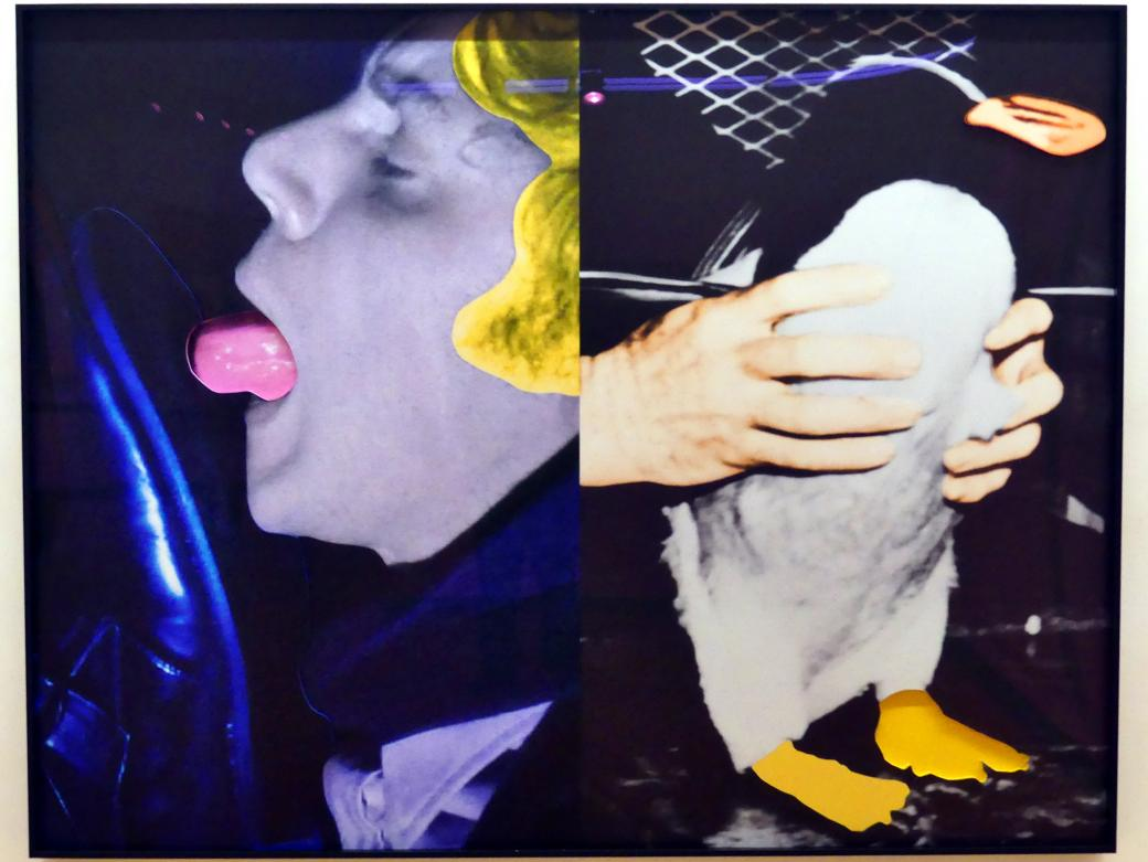 John Baldessari: Hands and/or Feet (Part Two): Shoe/Tongue/Penguin, 2009
