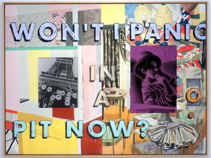 David Salle: For Andrew, 1996