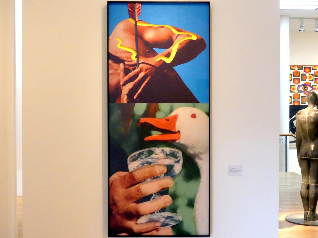 John Baldessari: Hands and/or Feet (Part Two): Arrow/Glass/Duck, 2009