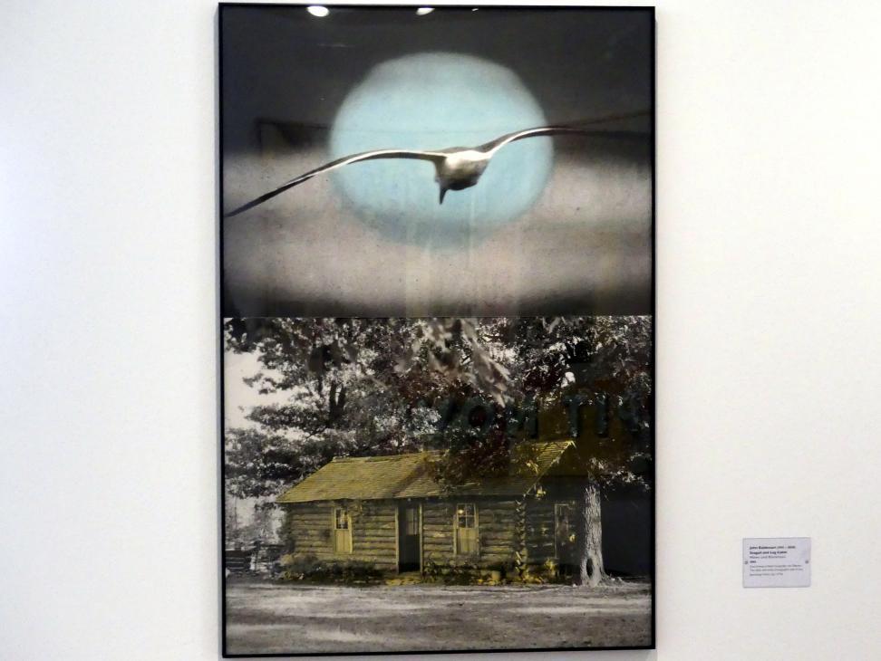 John Baldessari: Möwe und Blockhaus, 1991