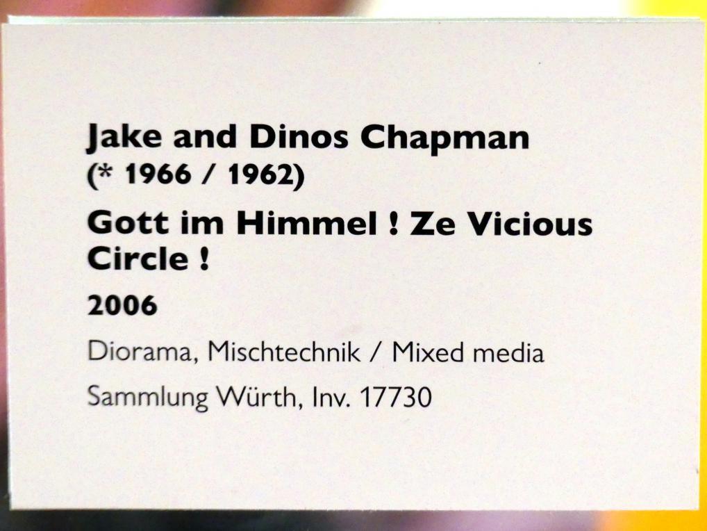 Jake und Dinos Chapman: Gott im Himmel ! Ze Vicious Circle !, 2006, Bild 10/10
