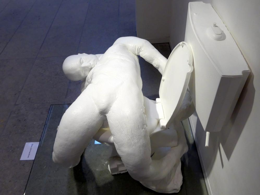 Paul McCarthy: White Toilet Man - Toilet Figure, 2003, Bild 3/6