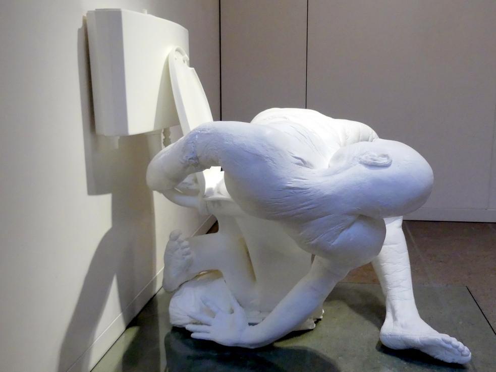 Paul McCarthy: White Toilet Man - Toilet Figure, 2003, Bild 5/6