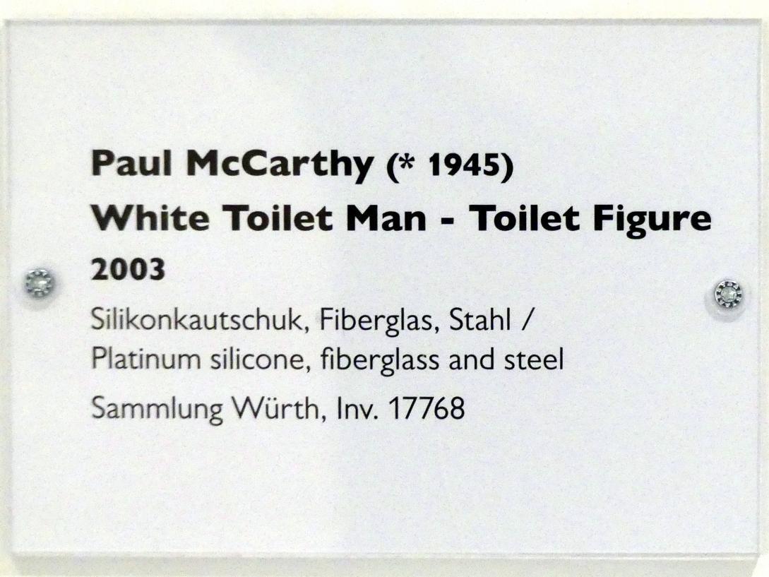 Paul McCarthy: White Toilet Man - Toilet Figure, 2003, Bild 6/6