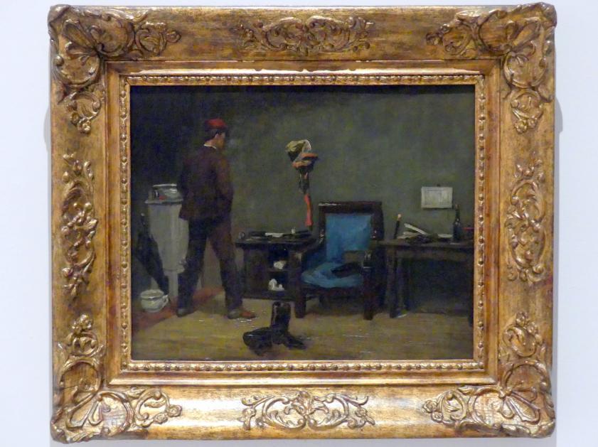 Soběslav Pinkas: Im Atelier, 1854