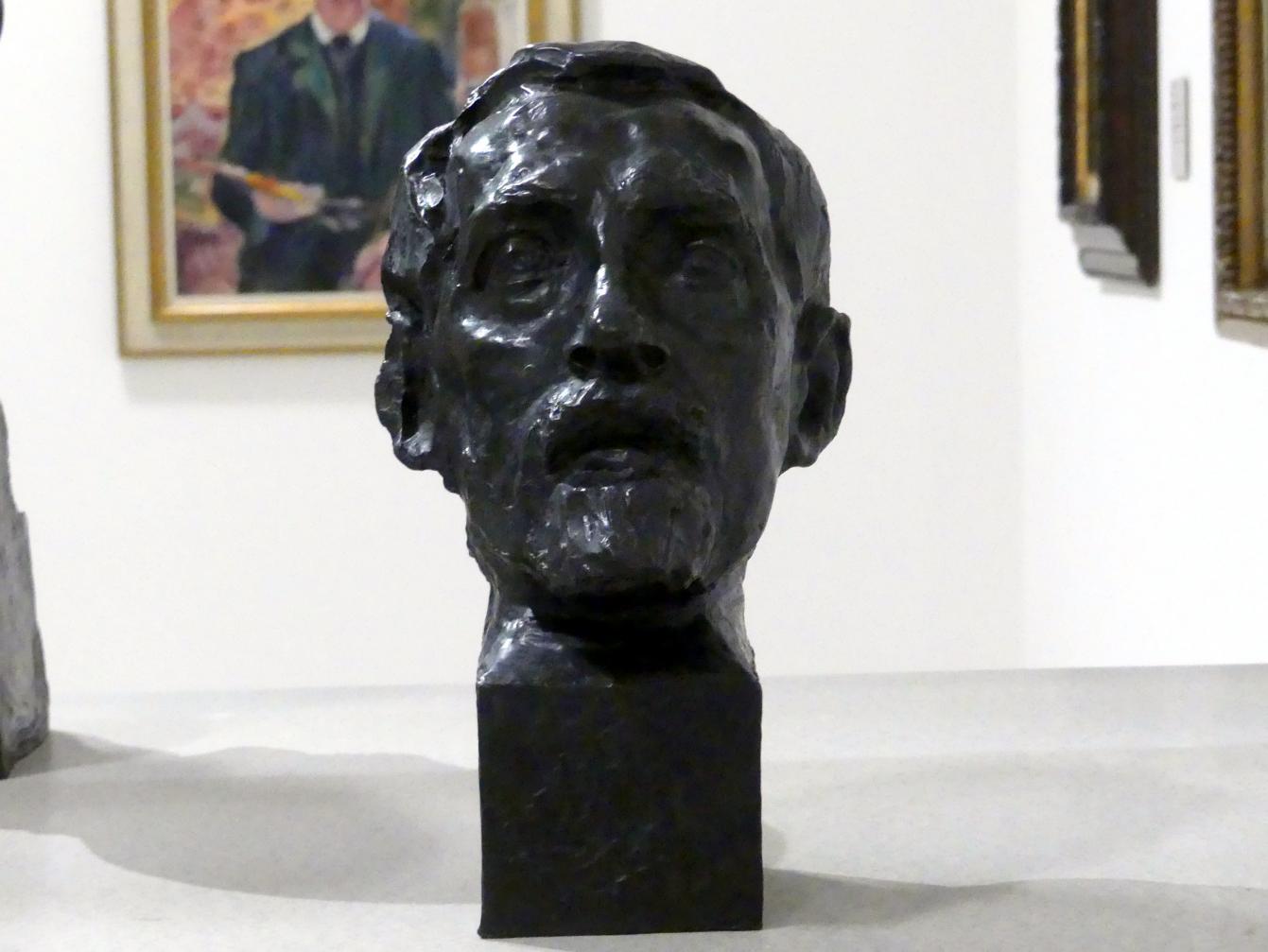 Josef Mařatka: Bildnis des Bildhauers Stanislav Sucharda, 1905