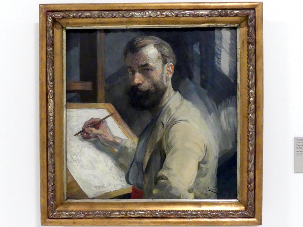 František Kupka: Selbstporträt, 1905