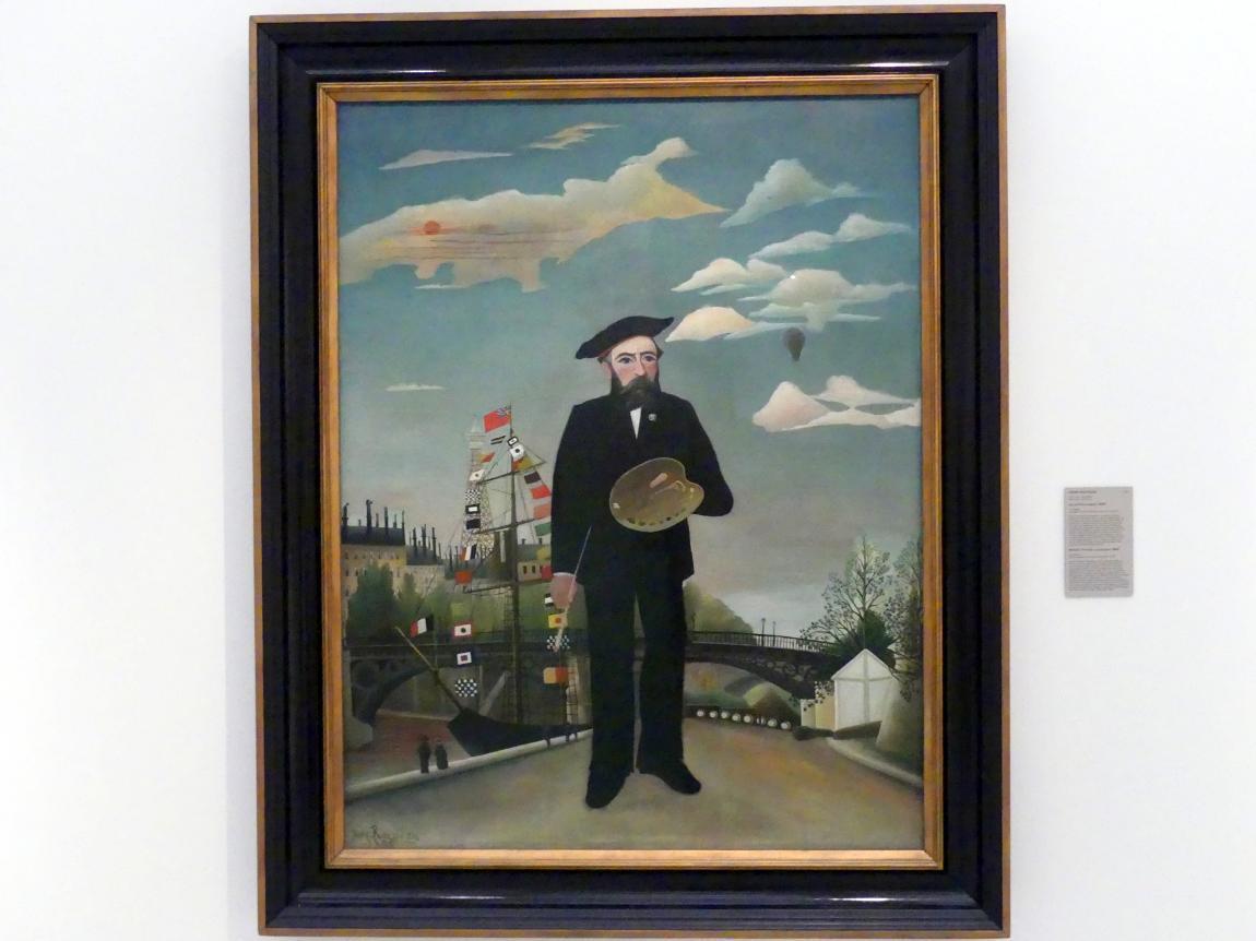 Henri Rousseau (Le Douanier): Ich, Porträt-Landschaft, 1890