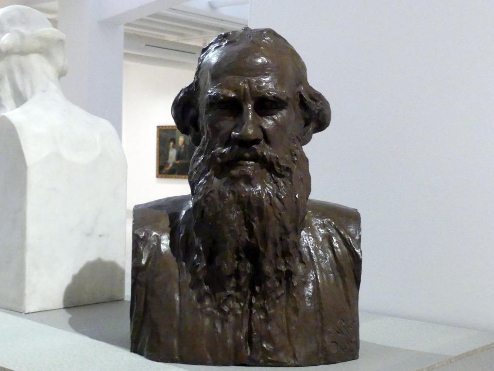 Ilja Jefimowitsch Repin: Büste von Leo Tolstoy, 1891