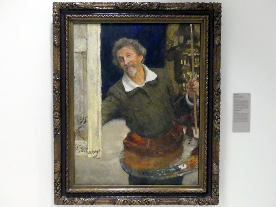 Ilja Jefimowitsch Repin: Selbstporträt, 1915