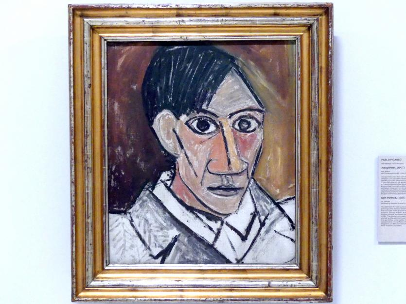 Pablo Picasso: Selbstporträt, 1907