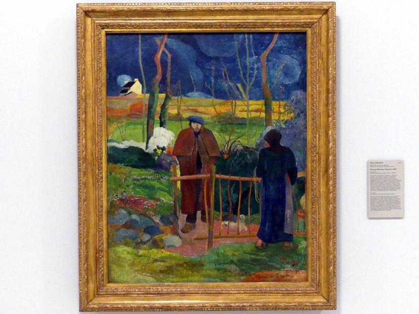 Paul Gauguin: Bonjour, Monsieur Gauguin, 1889