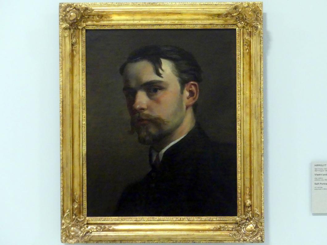 Soběslav Pinkas: Selbstporträt, 1853