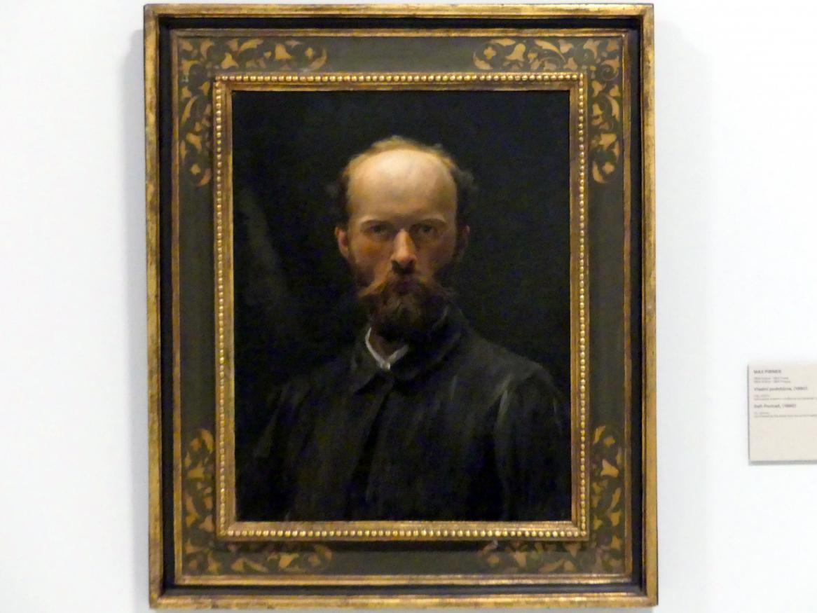 Maxmilián Pirner: Selbstporträt, 1890