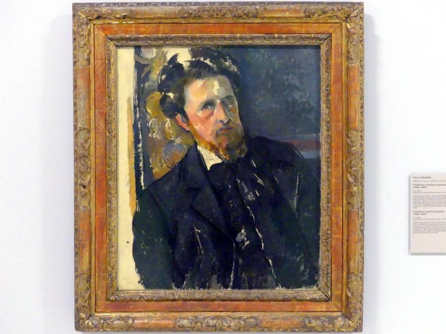 Paul Cézanne: Porträt von Joachim Gasquet, 1896 - 1897