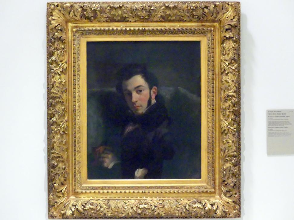 Eugène Delacroix: Porträt von Frédéric Villot, 1832