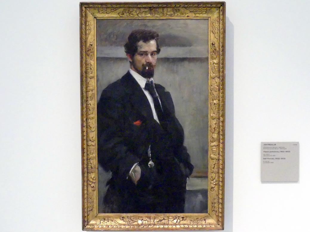 Jan Preisler: Selbstporträt, 1902 - 1903