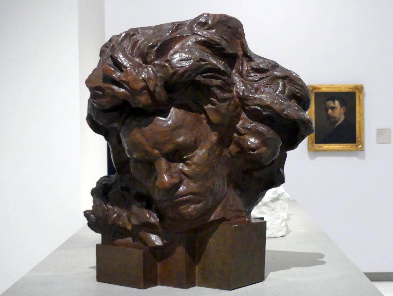 Antoine Bourdelle (Émile-Antoine Bourdelle): Büste Ludwig van Beethoven, 1891 - 1909