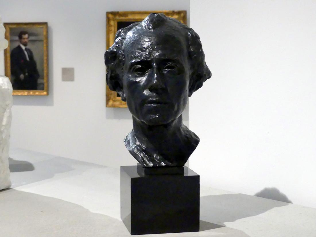 Auguste Rodin: Gustav Mahler, 1909