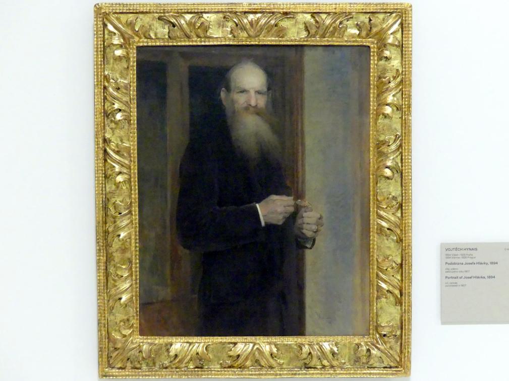 Vojtěch Hynais: Bildnis von Josef Hlávka, 1894