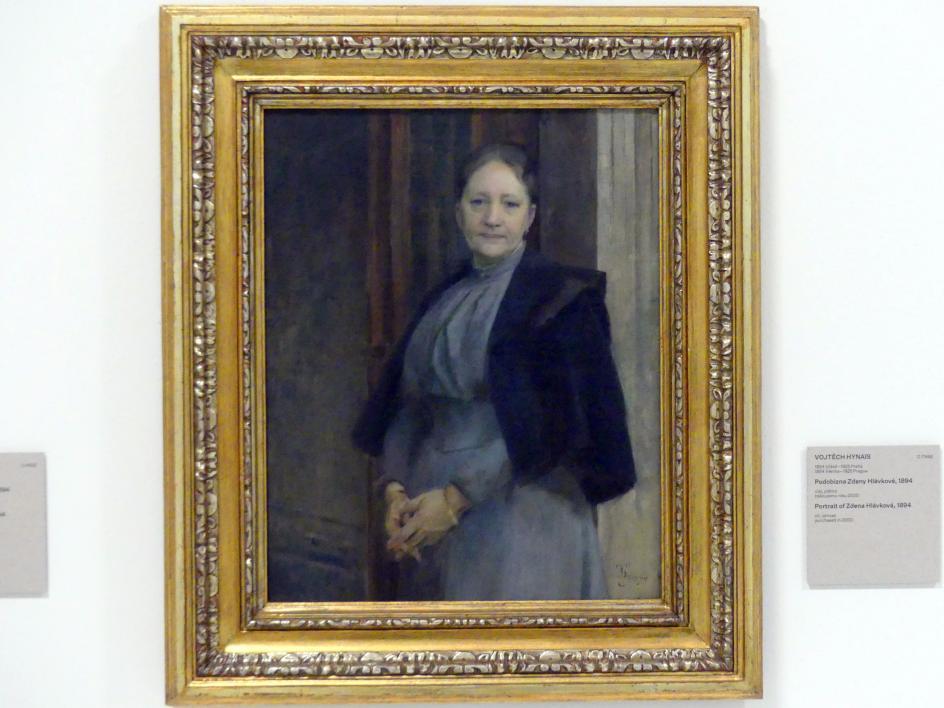 Vojtěch Hynais: Bildnis von Zdena Hlávková, 1894