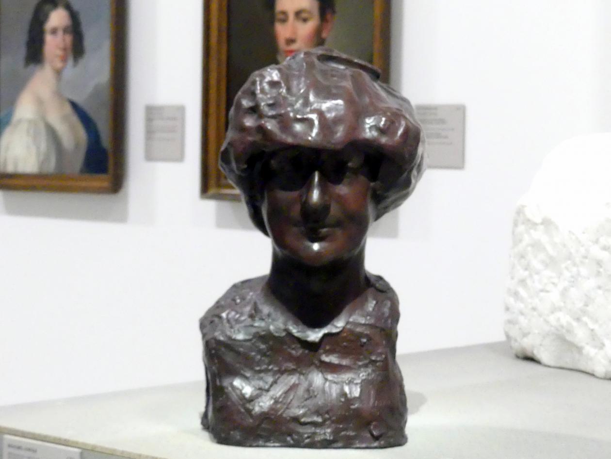 Bohumil Kafka: Büste Marguerite Mauclair, 1906