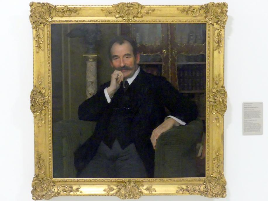 Vojtěch Hynais: Bildnis von Leopold Katz, 1913