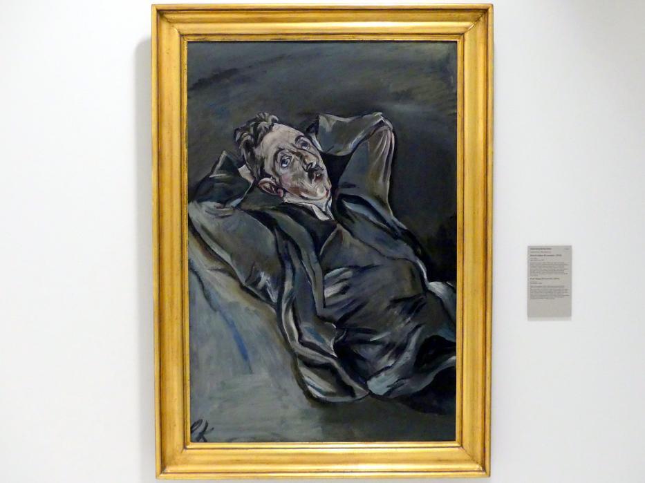Oskar Kokoschka: Der Dichter Albert Ehrenstein, 1914