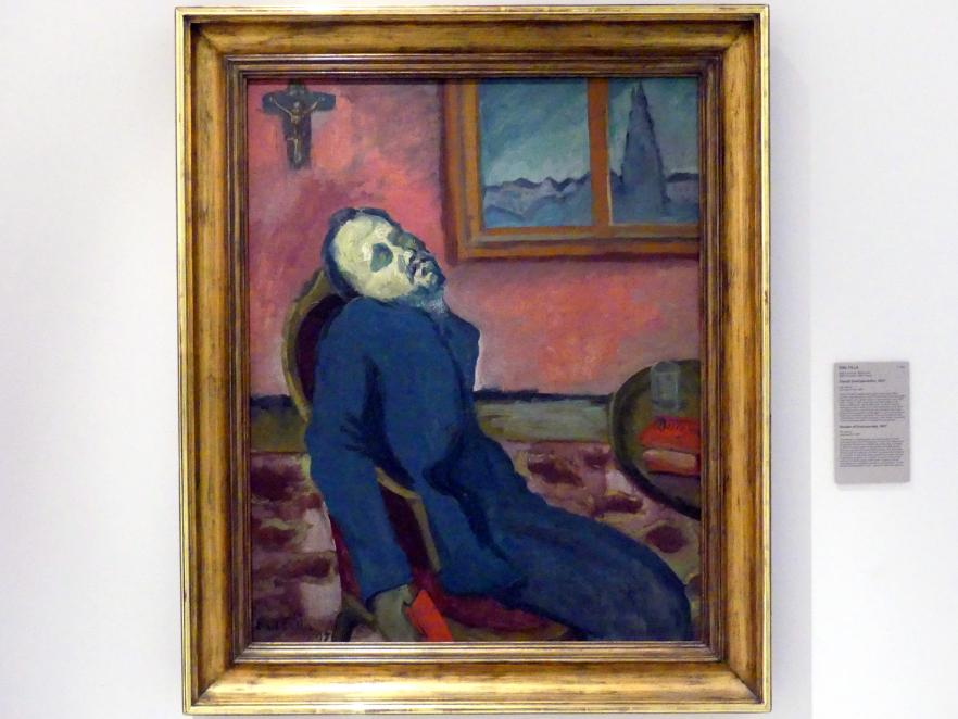 Emil Filla: Leser von Dostojewski, 1907