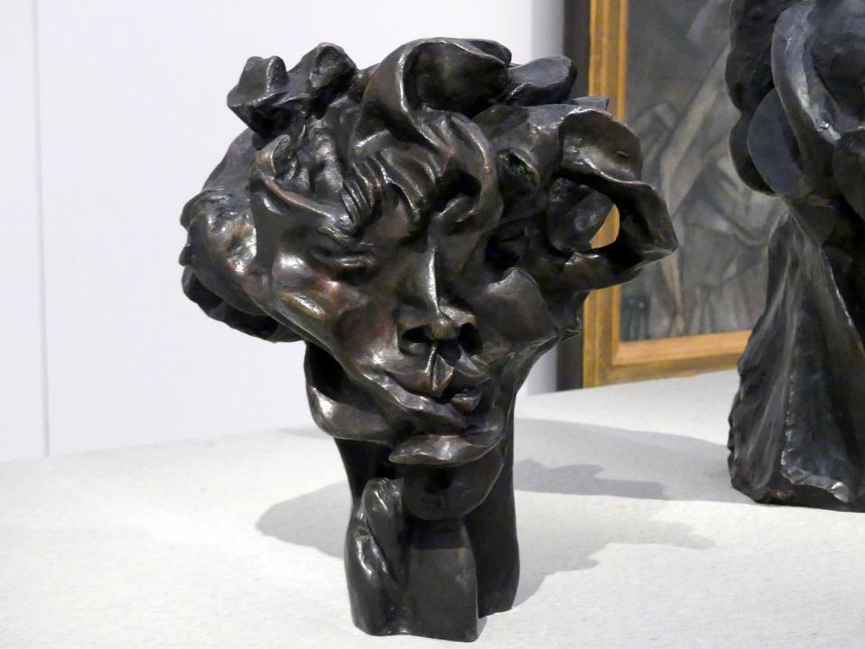 Otto Gutfreund: Viki's Kopf, 1912 - 1913