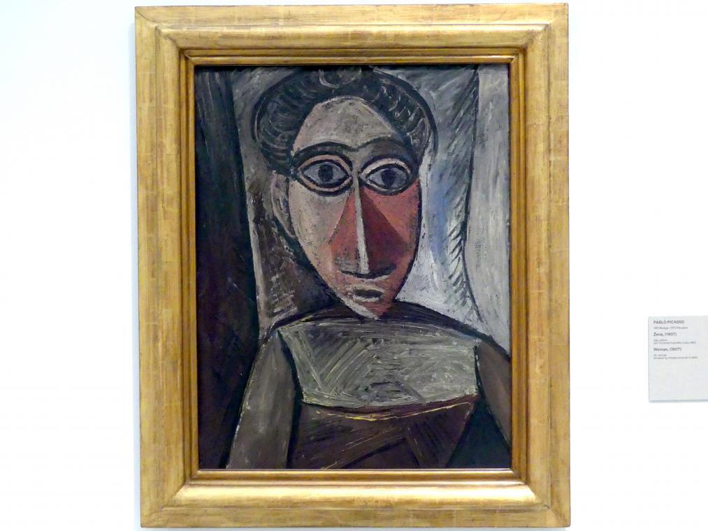 Pablo Picasso: Frau, 1907