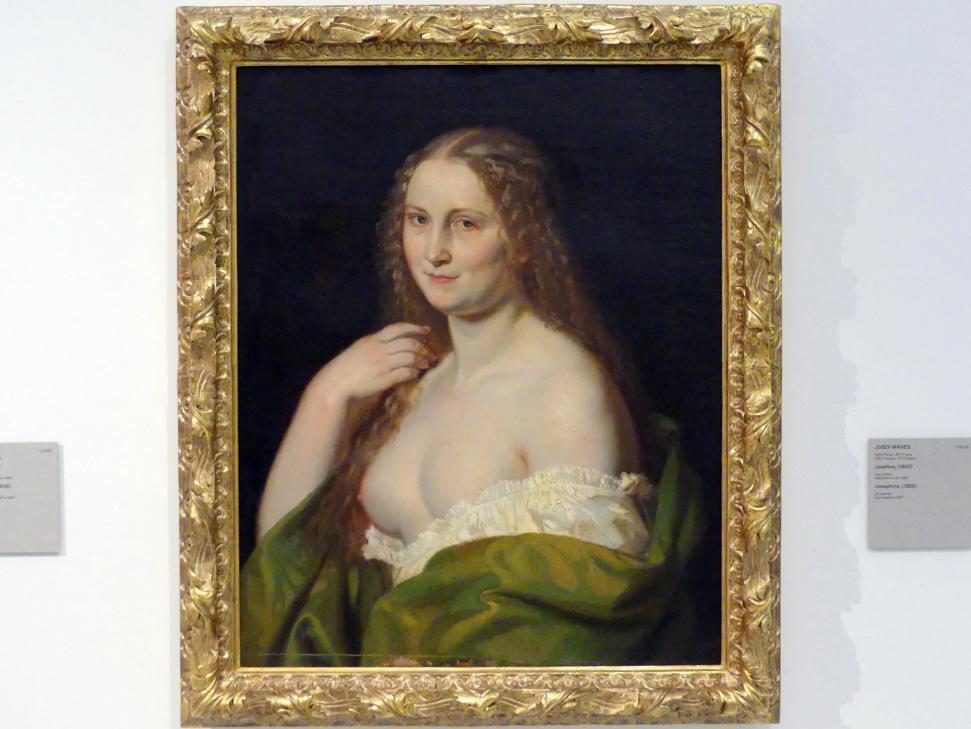 Josef Mánes: Josefine, 1855