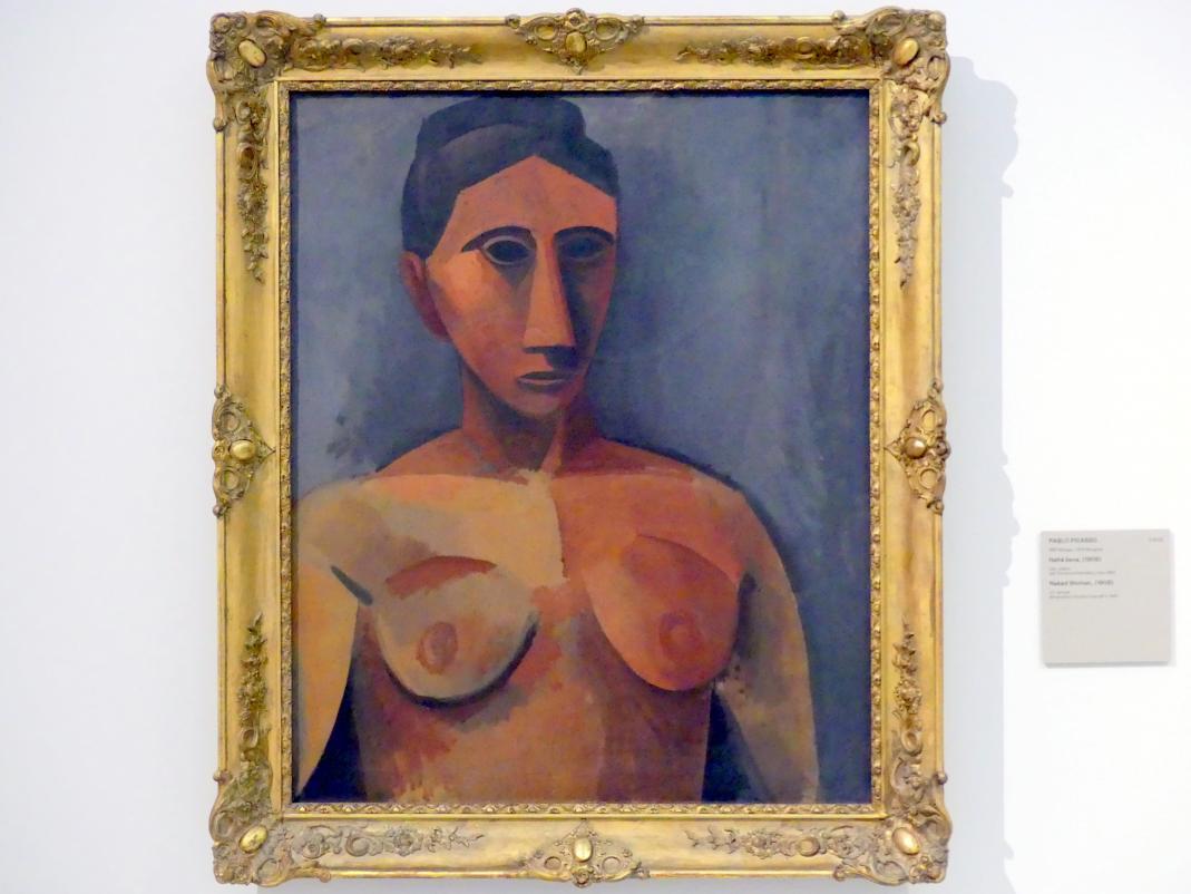 Pablo Picasso: Frauenakt, 1908