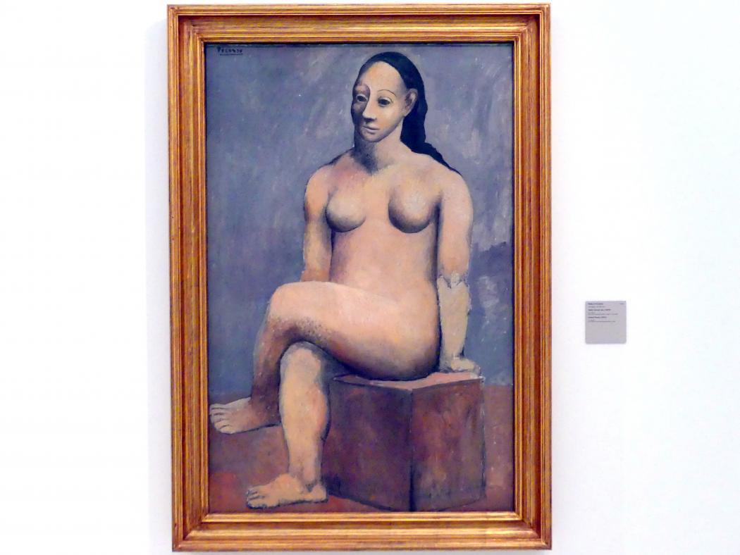 Pablo Picasso: Sitzender weiblicher Akt, 1906