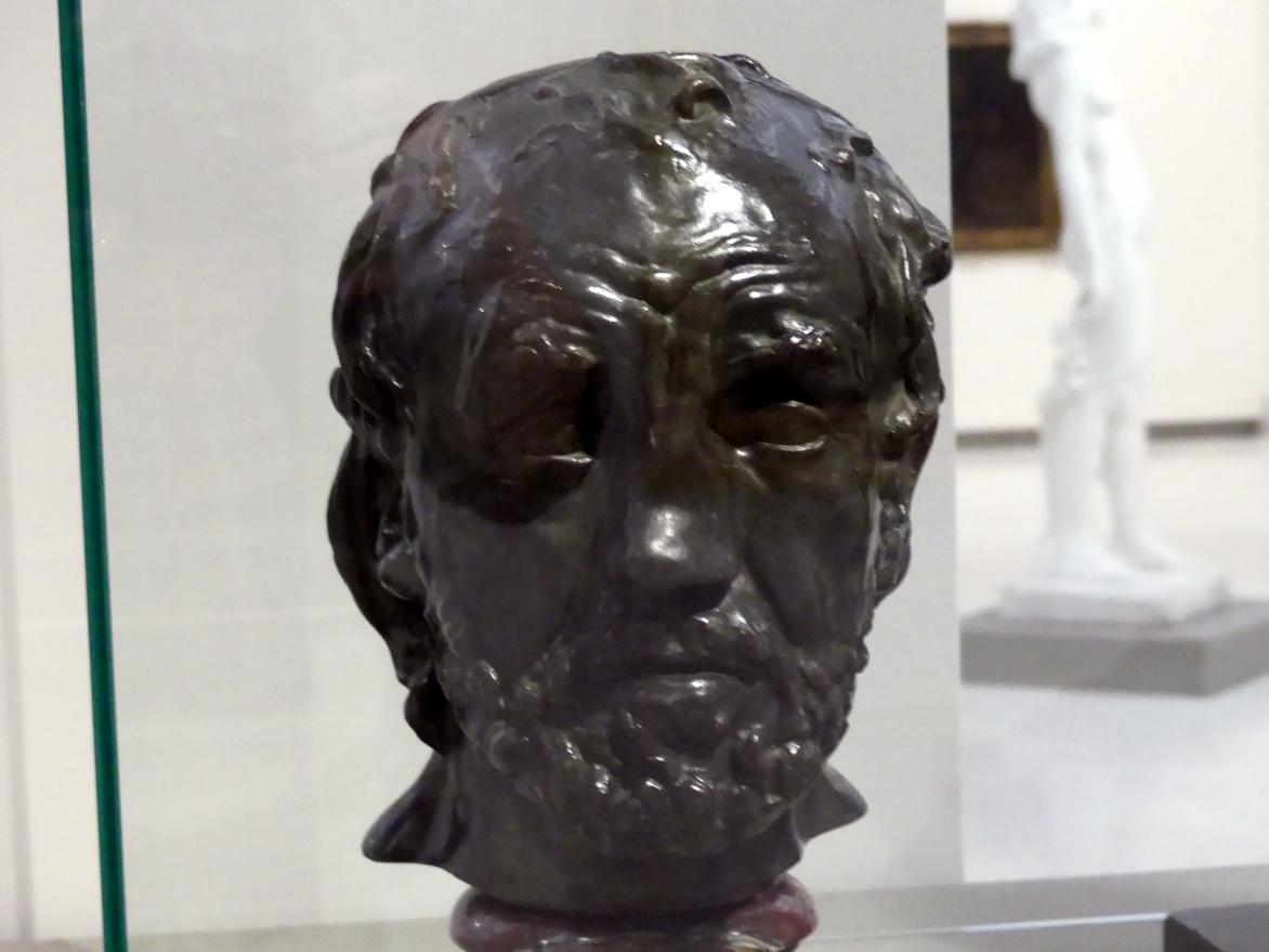 Auguste Rodin: Mann mit gebrochener Nase, 1864