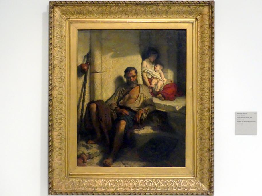 Jaroslav Čermák: Bettler (Bettlerfamilie), 1852