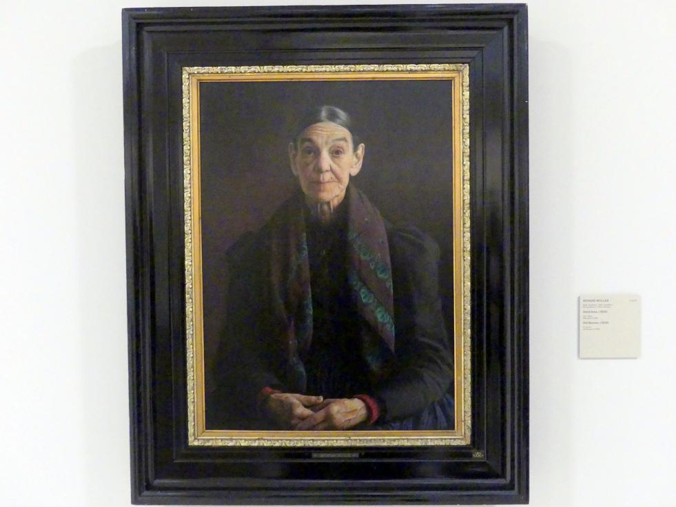 Richard Müller: Alte Frau, 1905