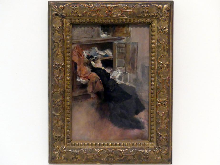 Luděk Marold: Lesende, 1892