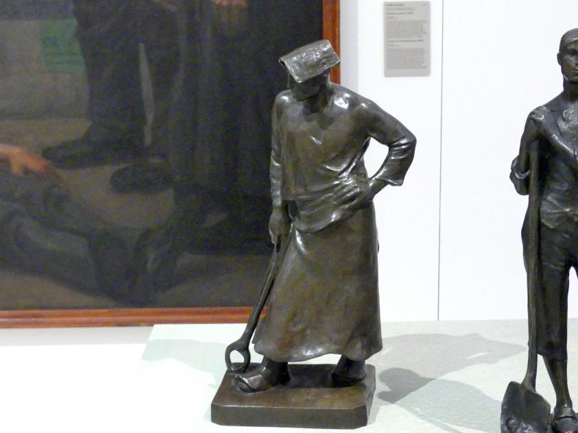 Constantin Meunier: Bergmann, 1887