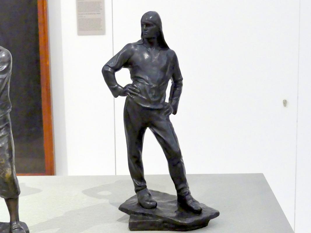 Constantin Meunier: Hafenarbeiter, 1884