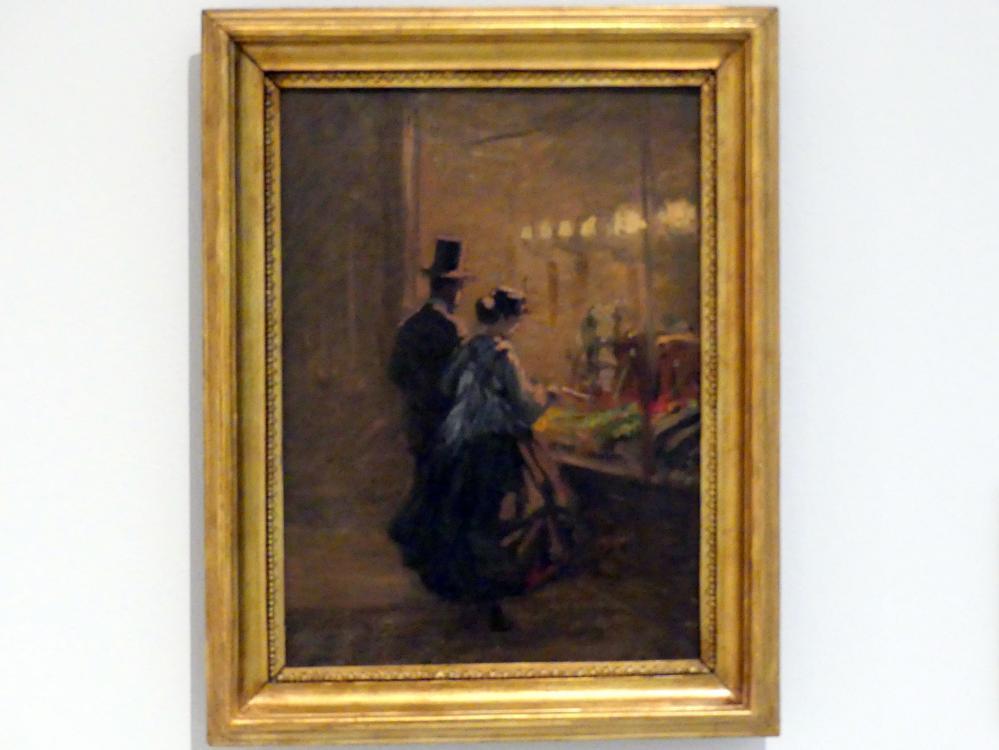 Viktor Barvitius: Vor dem Schaufenster, 1866