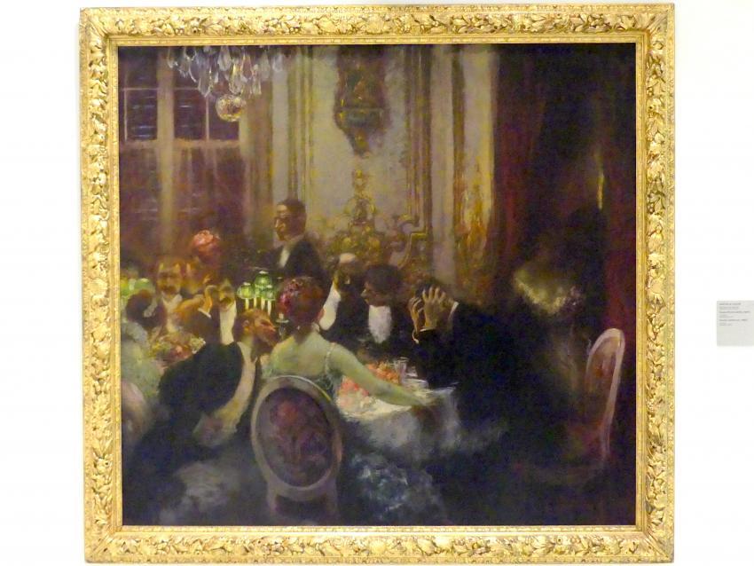 Gaston La Touche: Souper (Spätes Abendessen), 1890