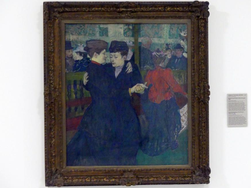 Henri de Toulouse-Lautrec: Im Moulin Rouge (Zwei Frauen Walzer tanzend), 1892